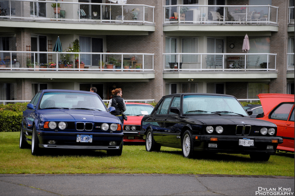 BMW M5 in E34 and E28
