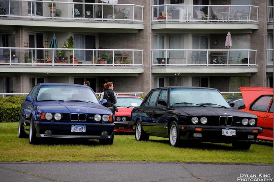 BMW M5 in E34 and E28