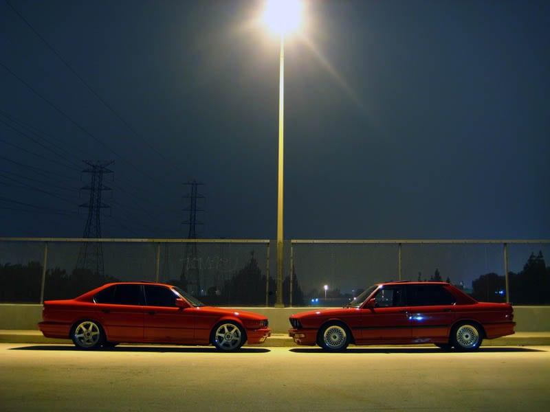 5 series E34 and E28