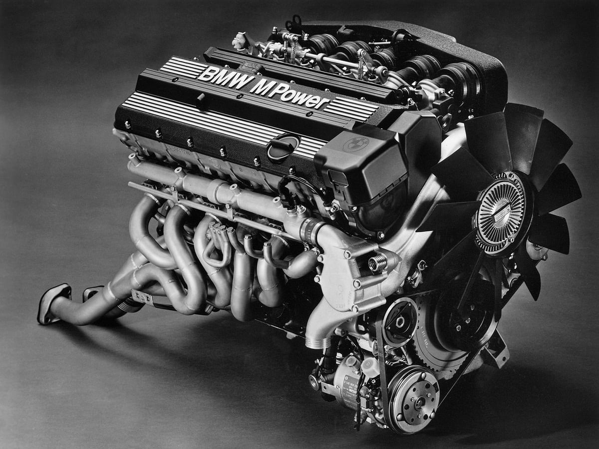 S38B36 Engine from BMW M5