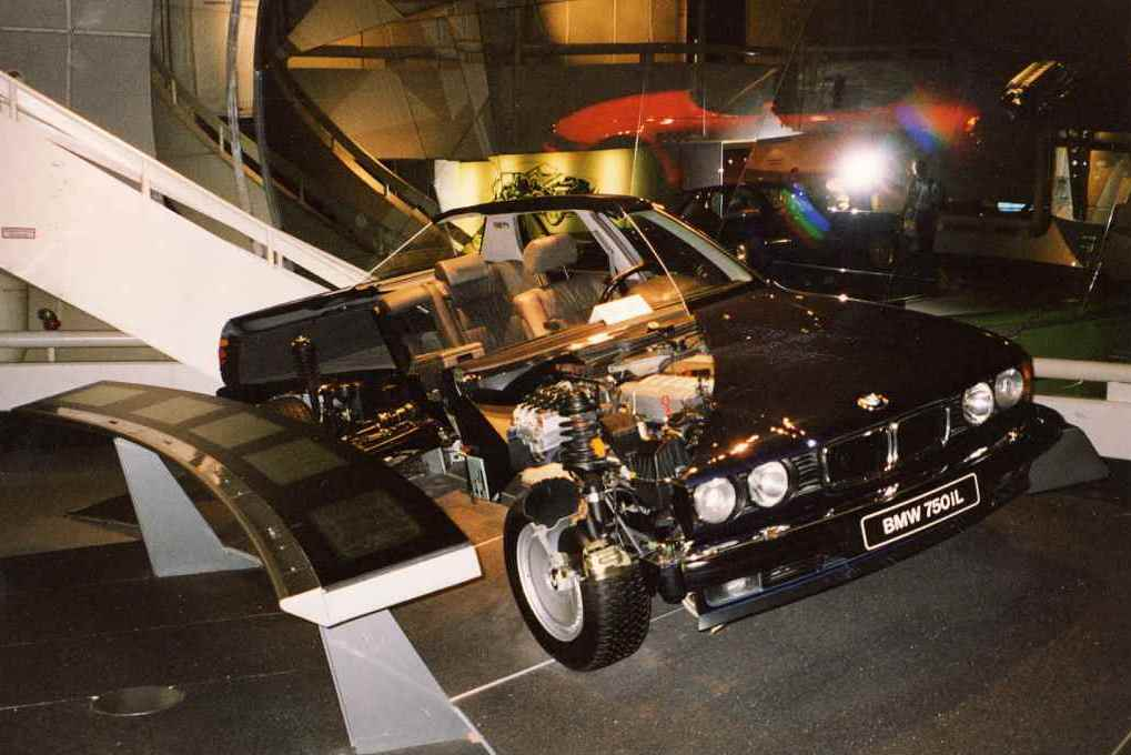 It's a full optioned '87 750iL, the year the production of the v12 started