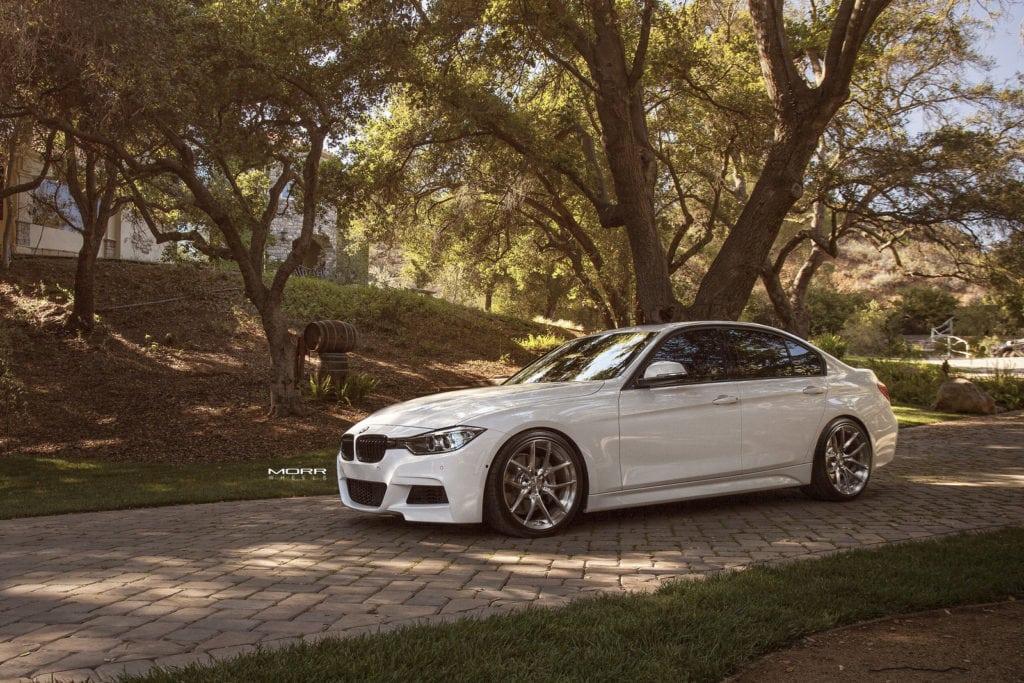 Alpine-White-BMW-F30-3-Series-Gets-Aftermarket-MORR-Wheels-3