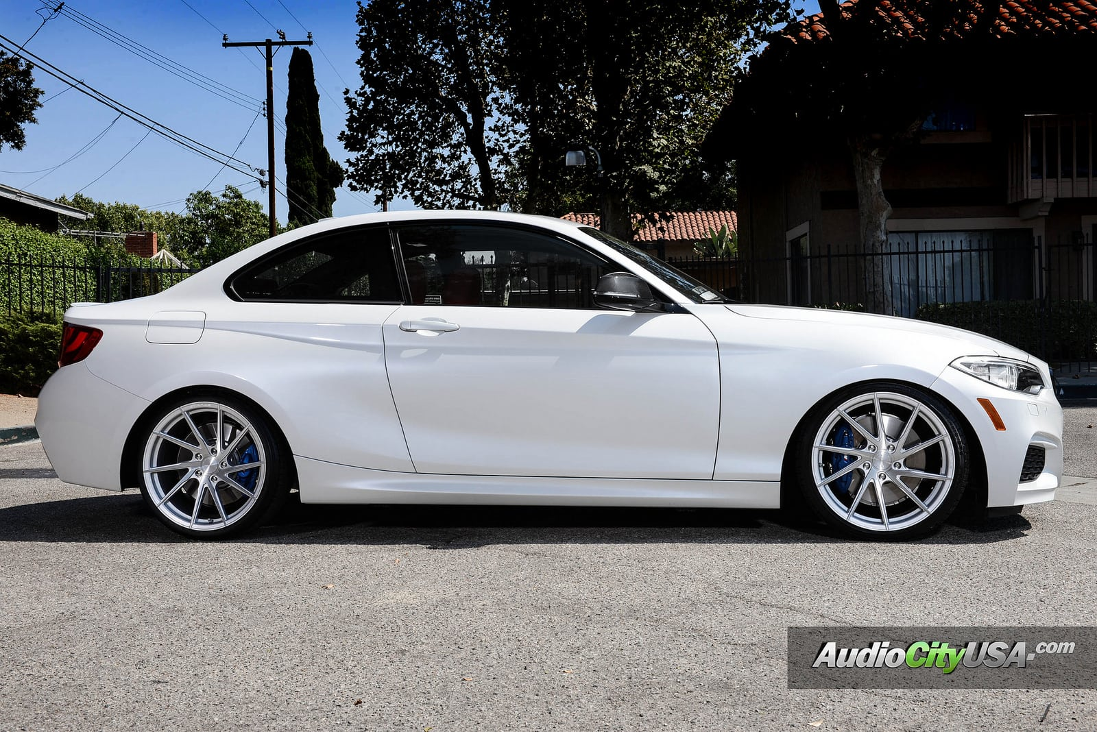 Alpine White BMW M235i Photoshoot 6