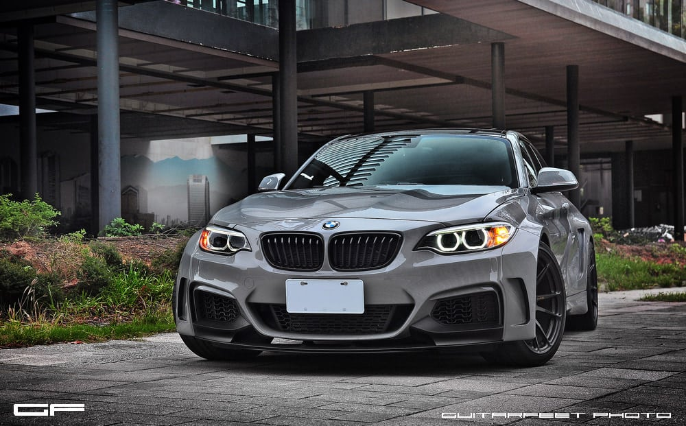 Manhart-Performance-BMW-M235i-with-HRE-P44SC-in-Satin-Black-1