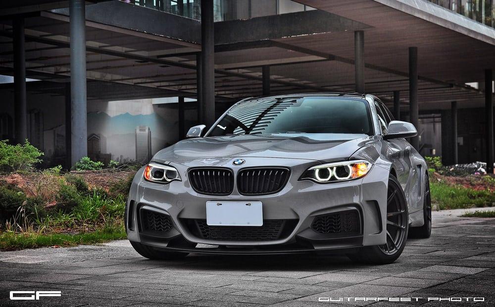 Manhart-Performance-BMW-M235i-with-HRE-P44SC-in-Satin-Black-1