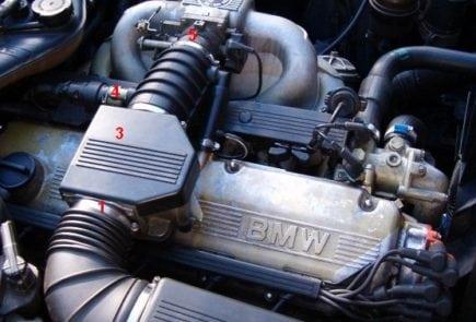 BMW 5 Series E34 Brake Pad Replacement