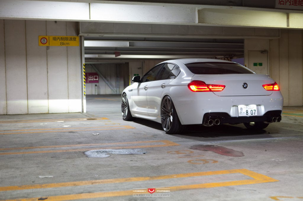 BMW 6 Series Gran Coupe in Alpine White Color