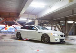 BMW 6 Series Gran Coupe in Alpine White Color