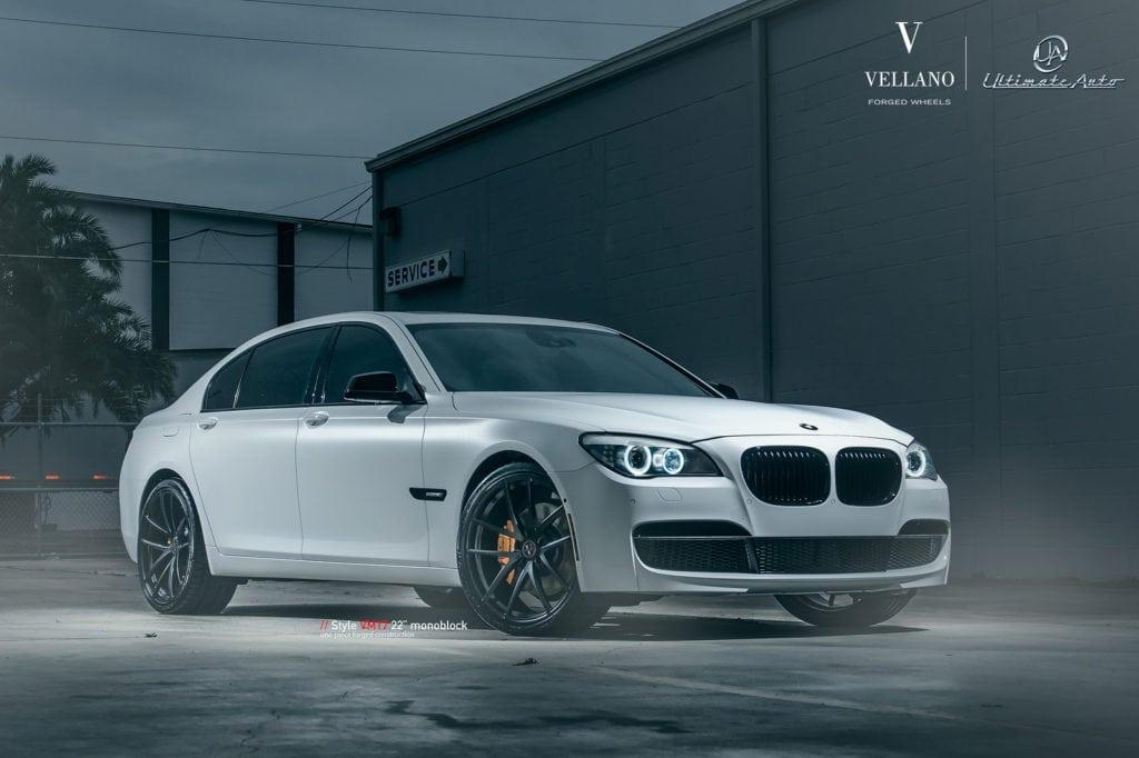 Modded BMW 740Li with Vellano Forged Wheels