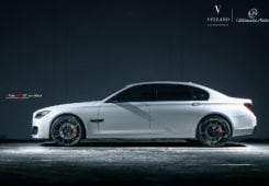 Modded BMW 740Li with Vellano Forged Wheels