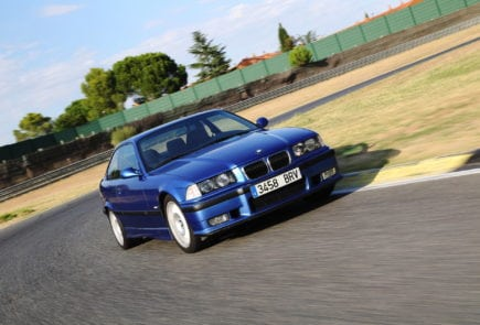 BMW M3 E36 on the Race Track