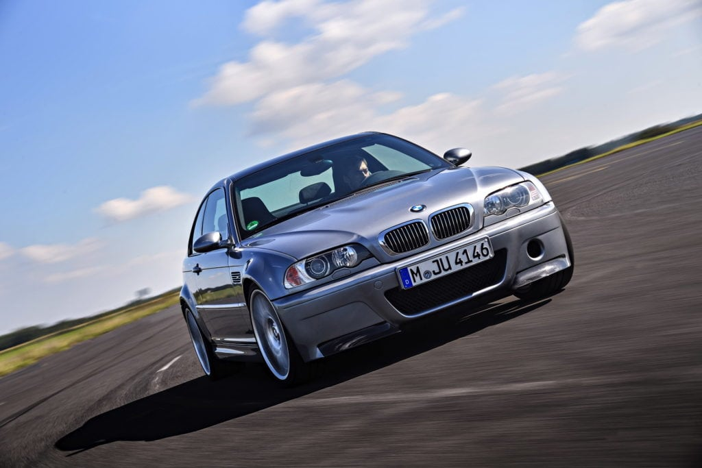 BMW M3 E46 CSL Official Photos