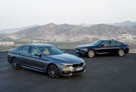 BMW 5 Series G30 2017 Sedan Luxury Line