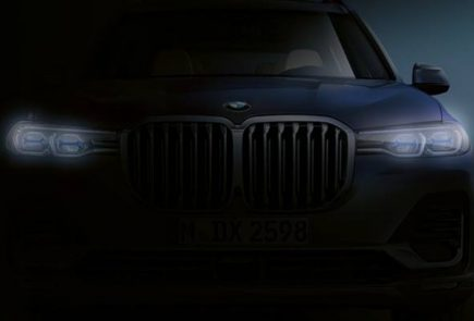 BMW X7 Teaser Cover
